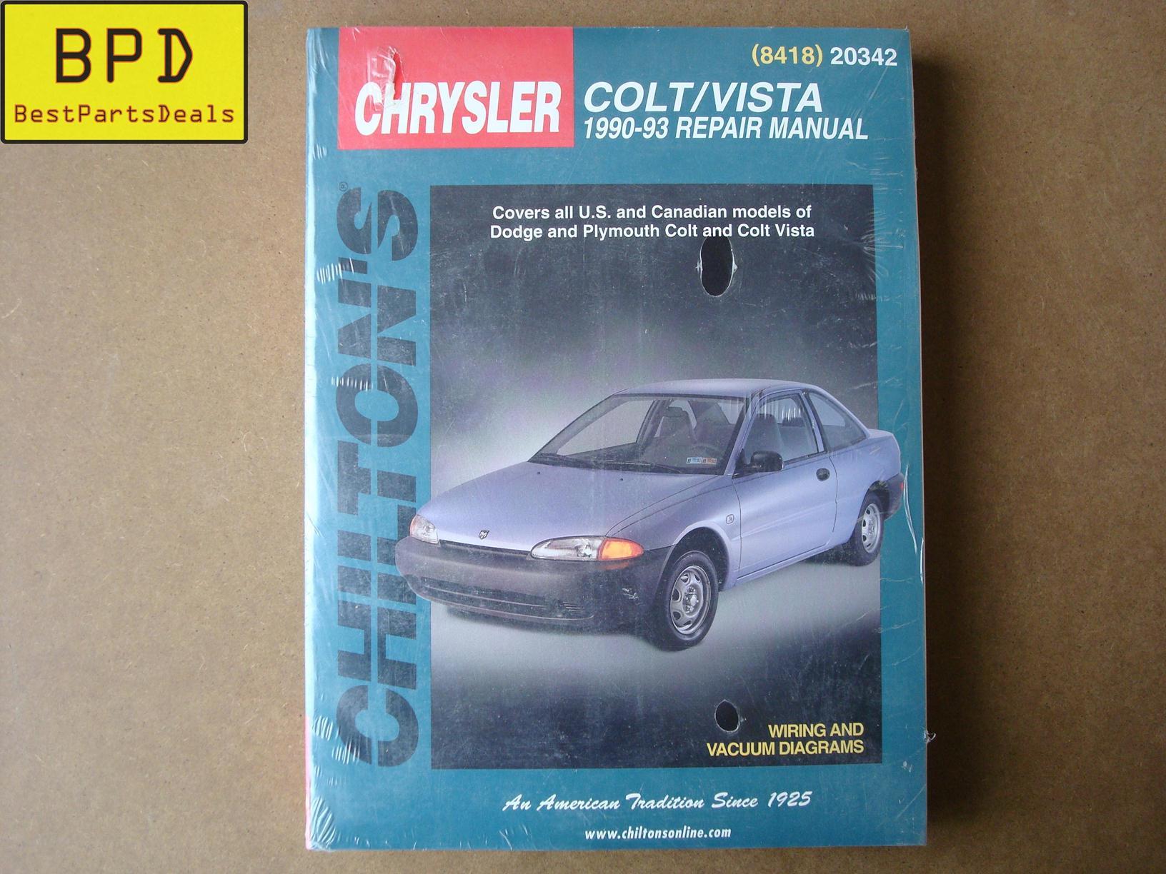 90-93 Plymouyh Colt Vista