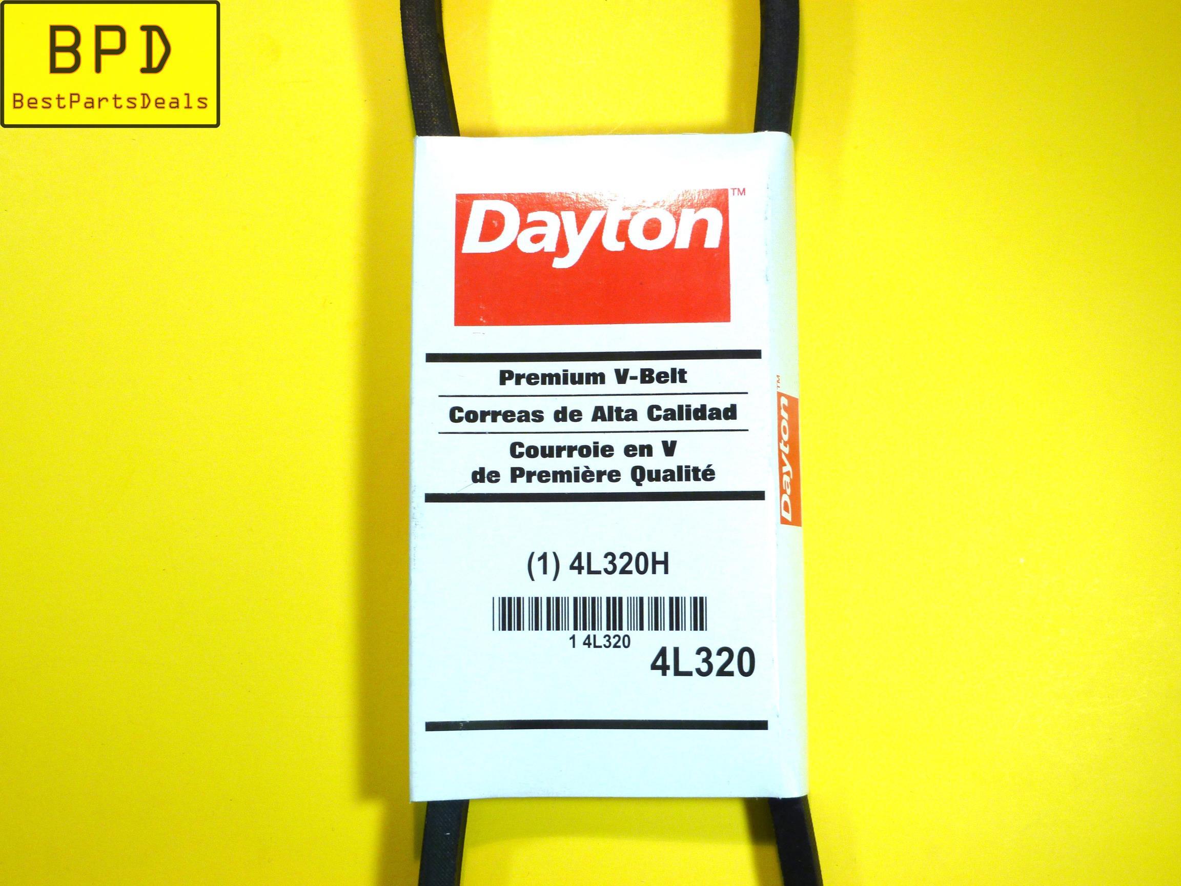 BRAND NEW DAYTON PREMIUM V-BELT 4L320H 4L320