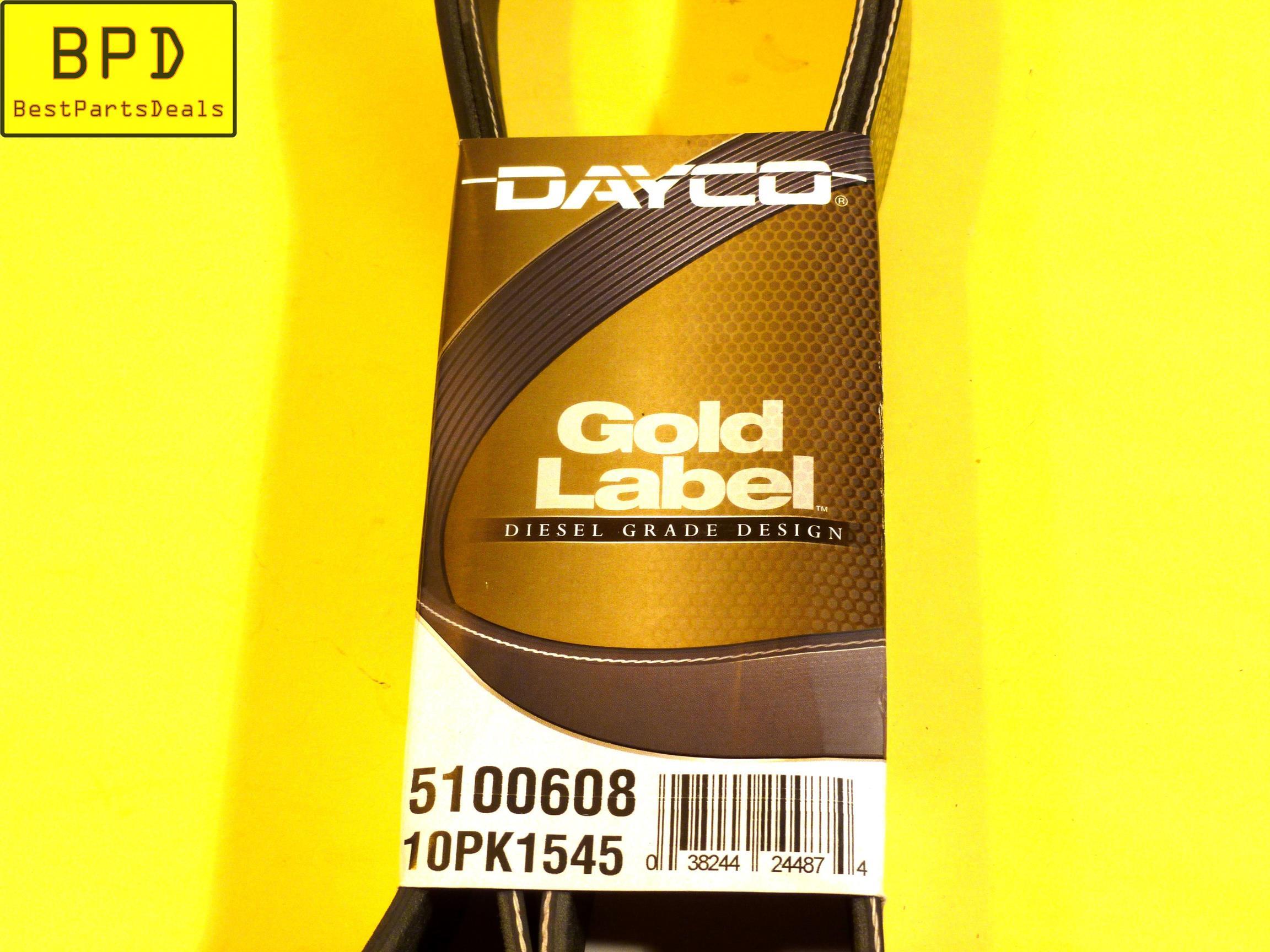 Dayco 5100608 Belt
