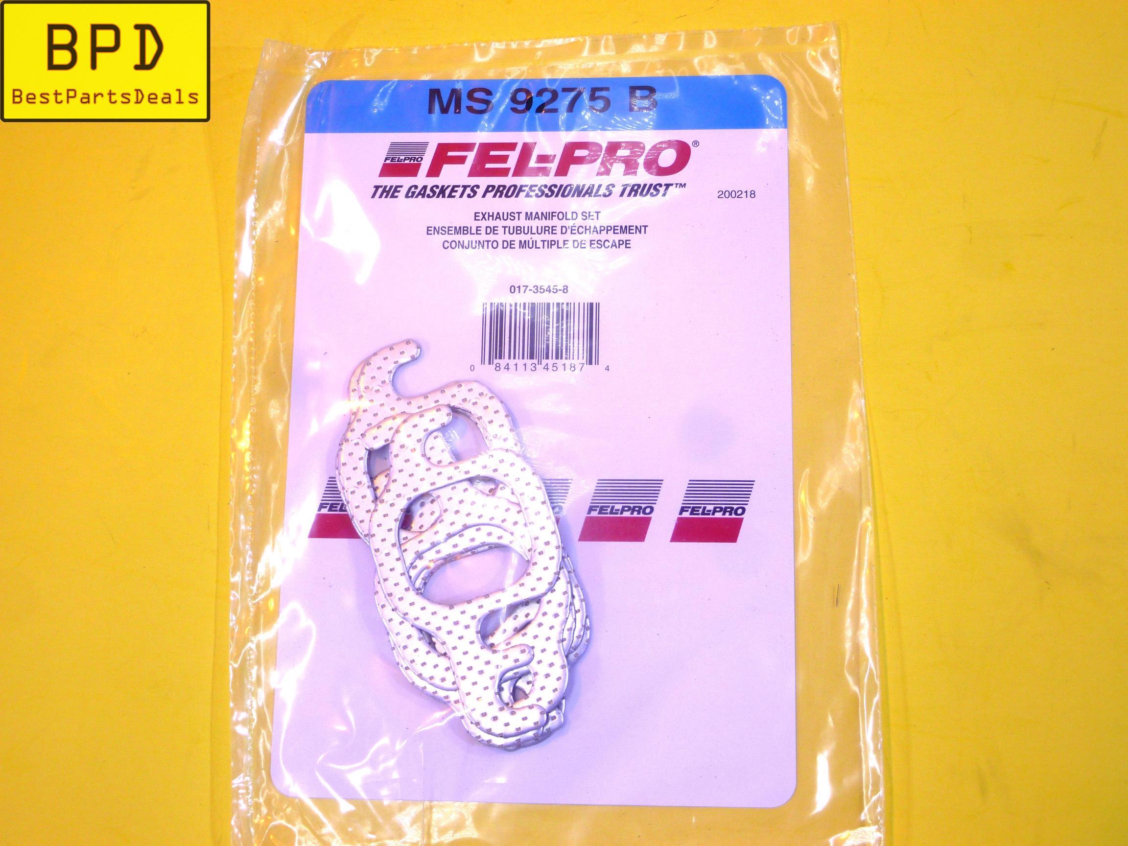 Exhaust Manifold Gasket Set Fel-Pro MS 9275 B