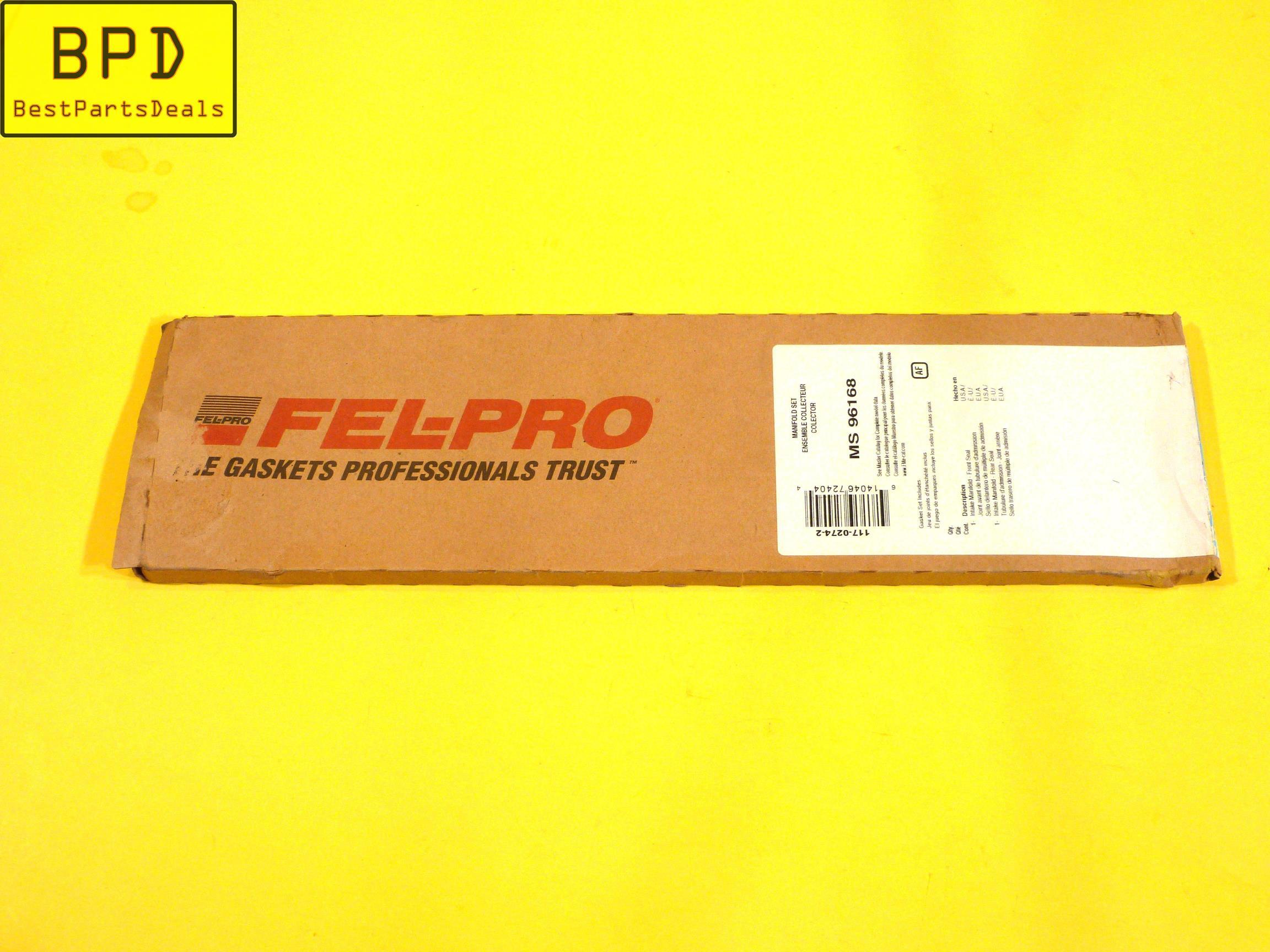 97-02 Acura Honda 3.0L V6 SOHC Intake Manifold Gasket Set FEL-PRO MS 96168
